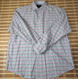 CT OXFORD WEAVE CLASSIC FIT CASUAL PLAID